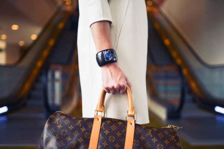 bag fashion jewelry person