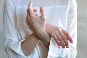 women s white long sleeved top