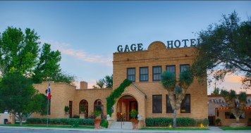 Gage Hotel front